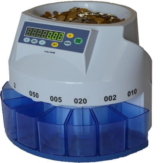 Znalezione obrazy dla zapytania liczarka do monet
